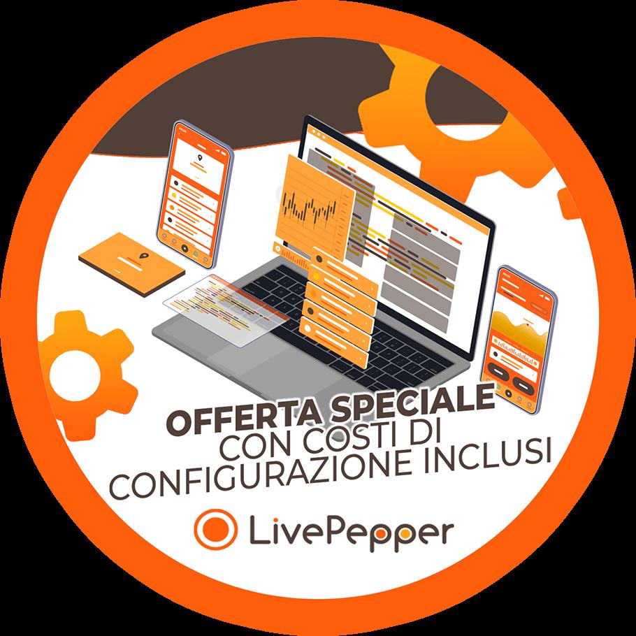LivePepper Offerta speciale con costi di configurazion inclusi